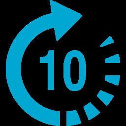 Icon seconds